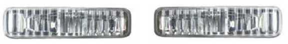 BMW E39 Повторитель поворота в крыло левый+правый (комплект) хрустальный на BMW e39 (БМВ е39) - цена, наличие, описание