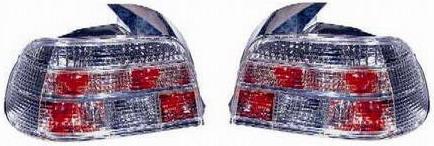 BMW E39 Задний внешний фонарь левый+правый (КОМПЛЕКТ), тюнинг, прозрачный хрусталь на BMW e39 (БМВ е39) - цена, наличие, описание