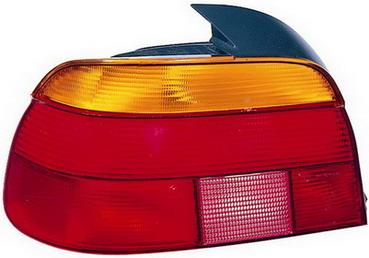 BMW E39 Задний внешний левый фонарь, красно-желтый на BMW e39 (БМВ е39) - цена, наличие, описание