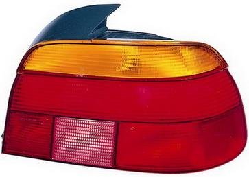 BMW E39 Задний внешний правый фонарь, красно-желтый на BMW e39 (БМВ е39) - цена, наличие, описание