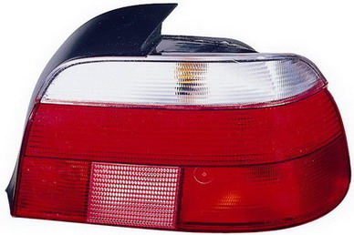BMW E39 Задний внешний правый фонарь, красно-белый на BMW e39 (БМВ е39) - цена, наличие, описание