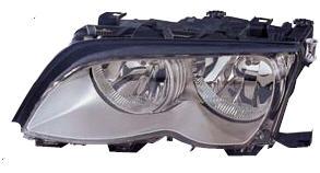 BMW E46 Фара левая (СЕДАН) с рег. мотор внутри, хром на BMW e46 (БМВ е46) - цена, наличие, описание