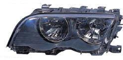 BMW E46 Фара левая с рег. мотором внутри черная на BMW e46 (БМВ е46) - цена, наличие, описание