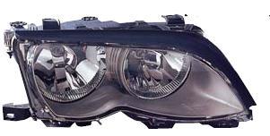 BMW E46 Фара правая (СЕДАН) с рег. мотором внутри черная на BMW e46 (БМВ е46) - цена, наличие, описание
