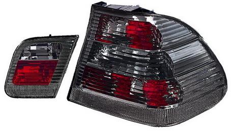 BMW E46 фонарь задний внешний+внутренний левый+правый (КОМПЛЕКТ) (СЕДАН) тюнинг прозрачный хрустальный тонированный на BMW e46 (БМВ е46) - цена, наличие, описание