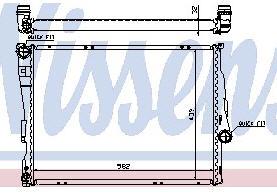 BMW E46 {+Z4} Радиатор охлаждения (см.каталог) на BMW e46 (БМВ е46) - цена, наличие, описание