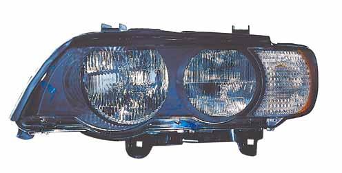 BMW X5 Фара левая с белым указателем поворота на BMW e53 X5 (БМВ е53 х5) - цена, наличие, описание
