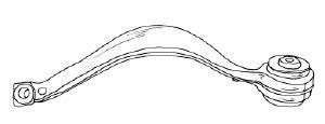 BMW X5 Рычаг передней подвески, левый верхний на BMW e53 X5 (БМВ е53 х5) - цена, наличие, описание