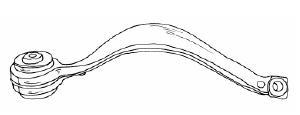 BMW X5 Рычпг передней подвески, правый верхний на BMW e53 X5 (БМВ е53 х5) - цена, наличие, описание