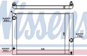 BMW E60 {E63/E64 04-/E65/E66 01-} Радиатор охлаждения (см.каталог) на BMW e65, e66 (БМВ е65, е66) - цена, наличие, описание