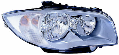 BMW E87 Фара правая, под корректор на BMW e87 1-er (БМВ е87) - цена, наличие, описание