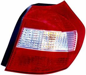 BMW E87 Фонарь задний, внешний правый, красно-белый на BMW e87 1-er (БМВ е87) - цена, наличие, описание
