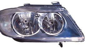 BMW E90 Фара правая под корректор фар (Valeo тип) на BMW e90, e91, e92 (БМВ е90, е91, е92) - цена, наличие, описание