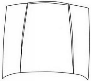 440 {460} КАПОТ на Volvo 440, 460 (Вольво 440, 460) - цена, наличие, описание