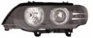 BMW X5 ФАРА Л+П (КОМПЛЕКТ) ТЮНИНГ С ДИОД УК.ПОВОР , СВЕТЯЩ ОБОДК , РЕГ.МОТОР , ЛИНЗОВАН ВНУТРИ ЧЕРН на BMW e53 X5 (БМВ е53 х5) - цена, наличие, описание